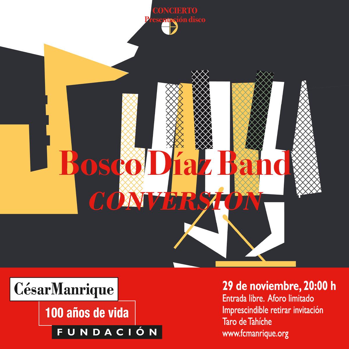 La FCM acoge la presentación del primer disco de Bosco Díaz Band, que incluye dos canciones de jazz instrumental dedicadas al artista con motivo de su centenario