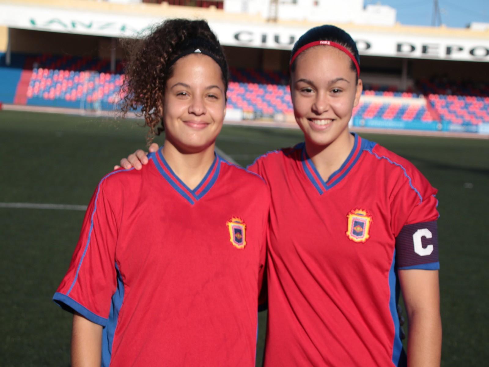 Dos jugadoras de la UD Lanzarote en la Selección Canaria Femenina