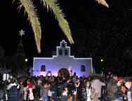 Tías, con la inauguración del portal de Belén y encendido navideño da por iniciada toda la programación de actos de Navidades y Reyes
