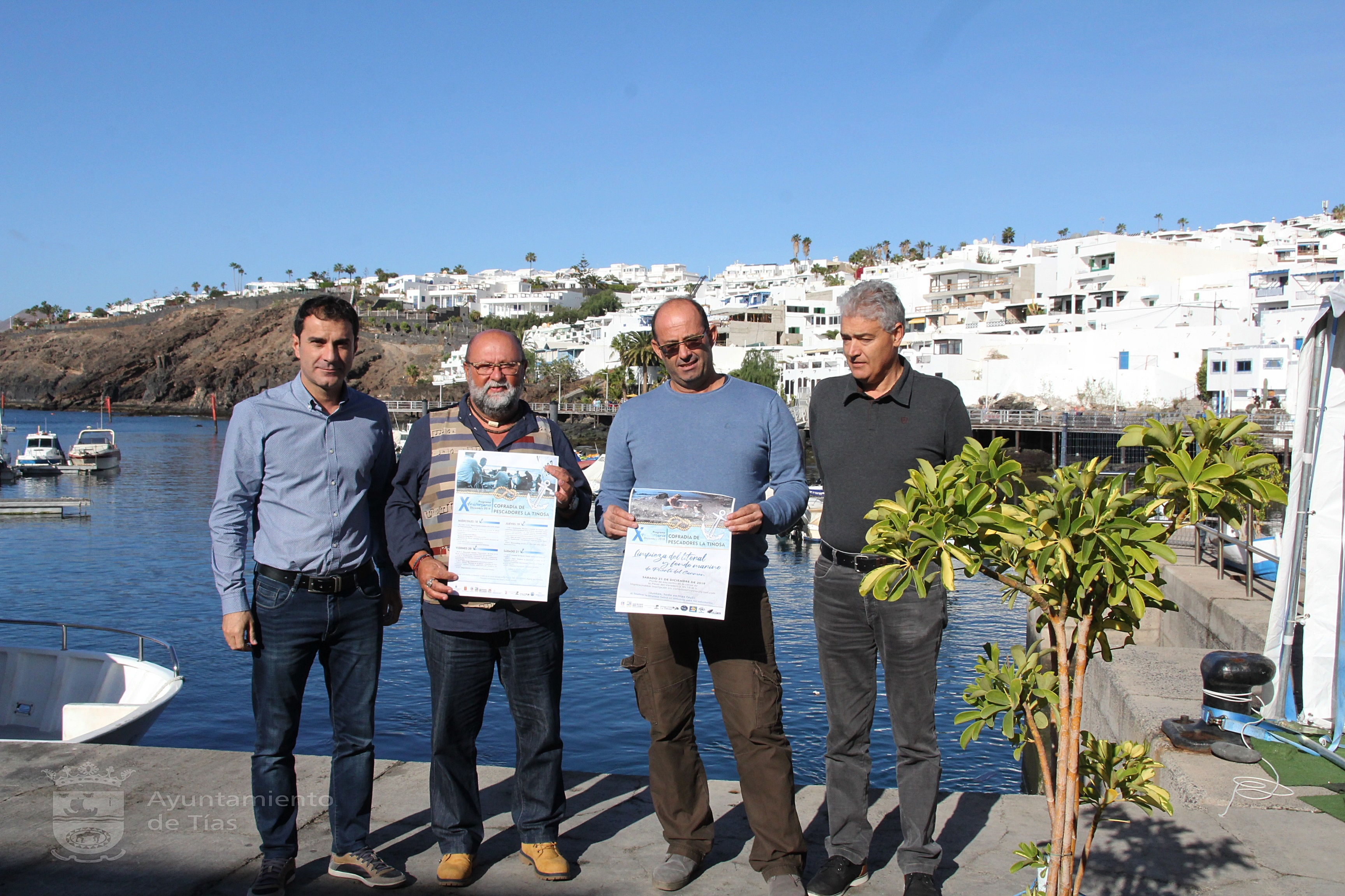 Diez años de la Cofradía de La Tiñosa con un programa que homenajea a sus pescadores