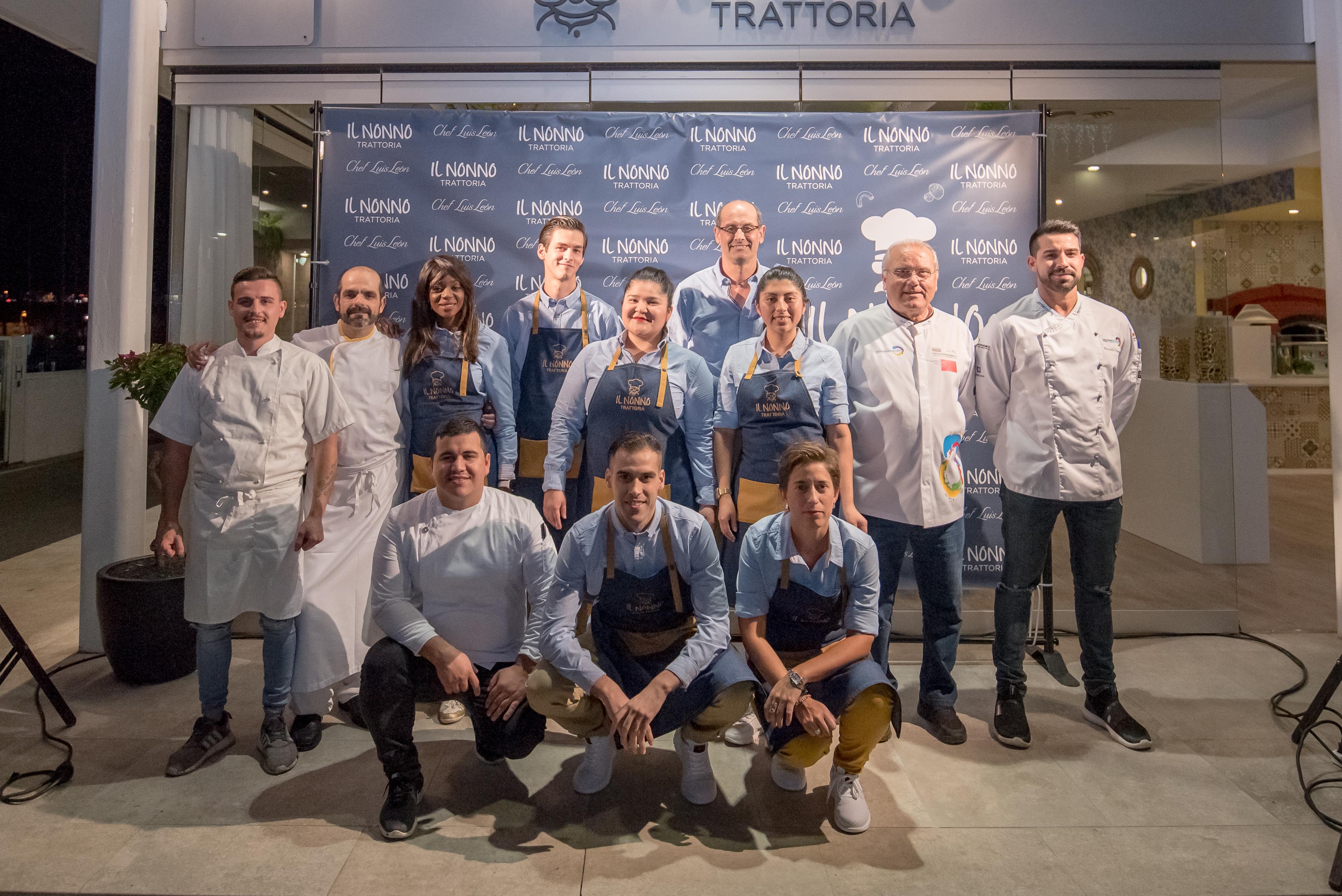 Trattoria Il Nonno, la nueva apuesta del chef Luis León, abre sus puertas en Marina Lanzarote
