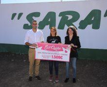 El Cabildo y el Ayuntamiento de San Bartolomé entregan a la Protectora de Animales Sara el donativo recaudado en la Feria de Bodas 'Sí Quiero Lanzarote'