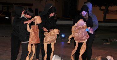 La Escuela de Teatro de Yaiza se estrena con puesta en escena de calle