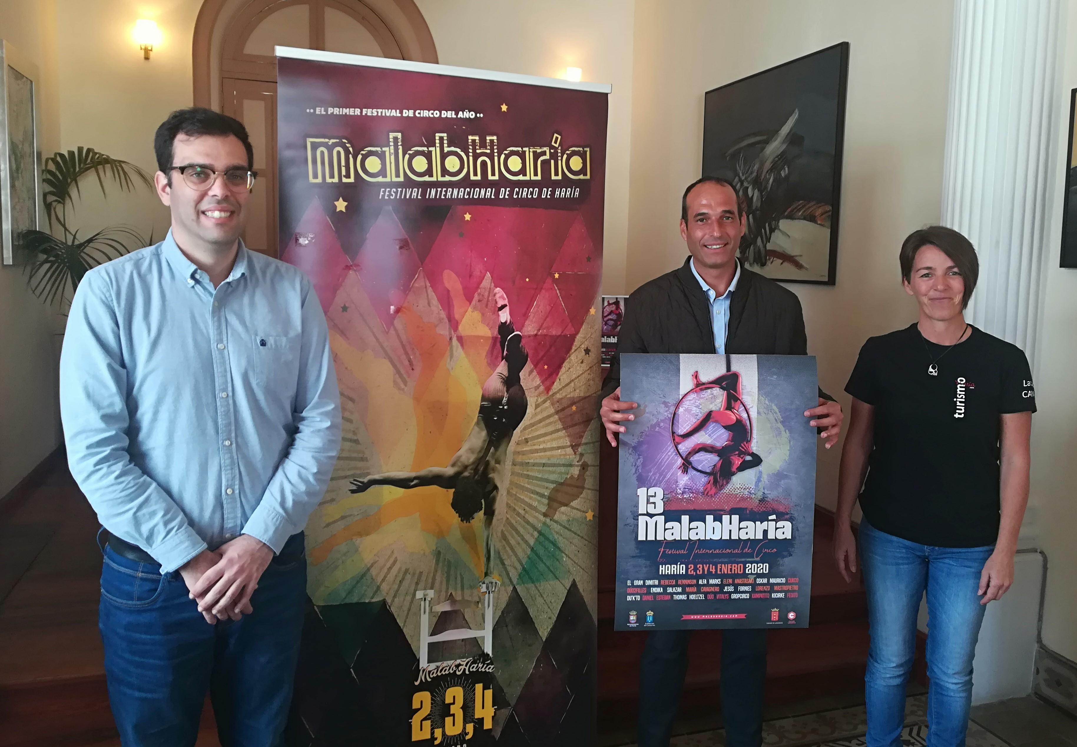 La magia del circo vuelve un año más al municipio de Haría