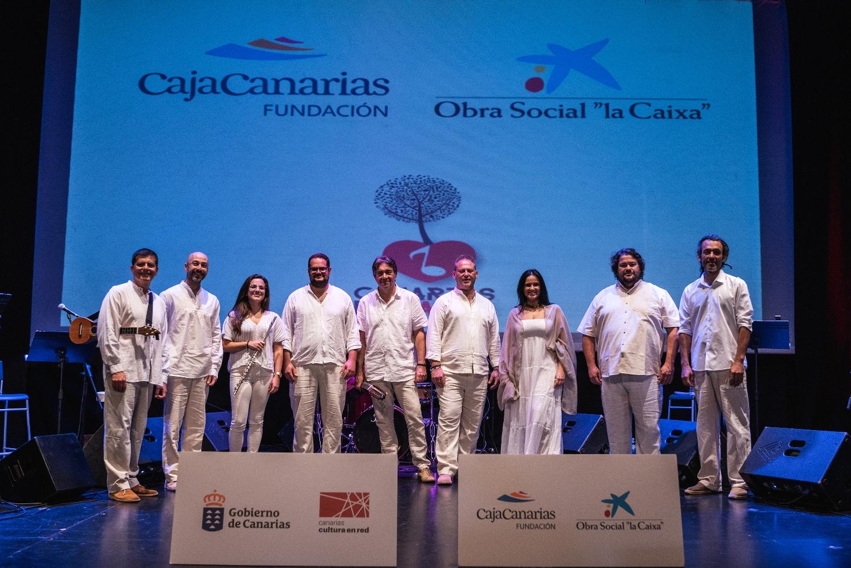 Benito Cabrera recorre la música popular canaria con un concierto familiar en La Palma