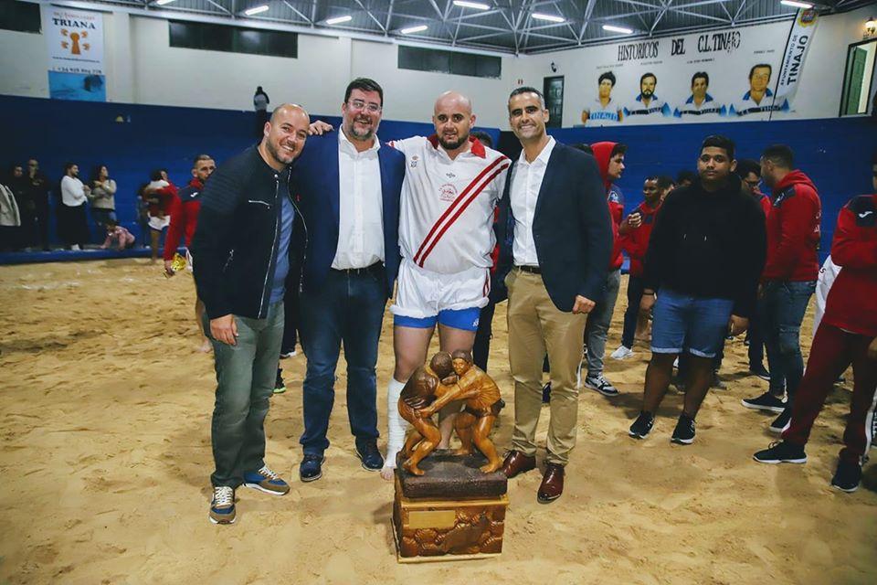 El Ayuntamiento felicita al Club de Lucha de San Bartolomé por su victoria en el XXXVI Torneo Isla de Lanzarote