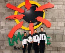 El Cabildo felicita al equipo de gimnastas Tenesa Sol tras proclamarse Campeonas de Canarias