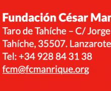 La Fundación César Manrique cancela todas las actividades programadas del 16, 17, 19 , 20 (Lanzarote) y 26 de marzo en el Parlamento de Canarias (Santa Cruz de Tenerife)