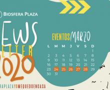 Biosfera Plaza: Nueva programación actividades marzo 2020
