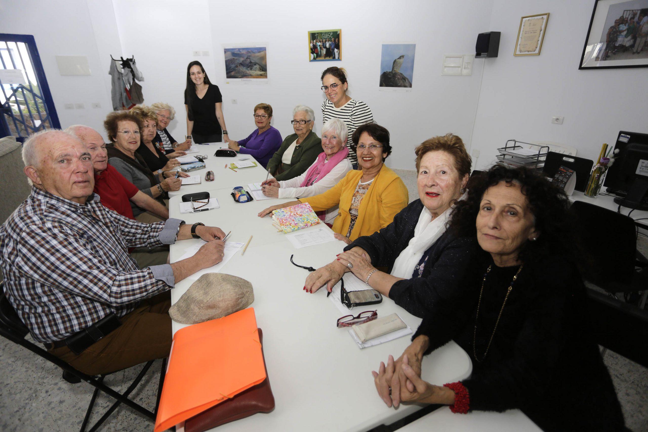 Arranca en Teguise una nueva edición de los talleres del Plan de Envejecimiento Activo