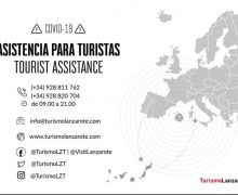 Turismo Lanzarote ofrece un servicio de Asistencia para Turistas