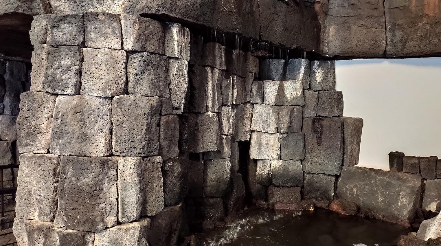 Los Centros recuperan la mítica cascada de la Casa Museo del Campesino
