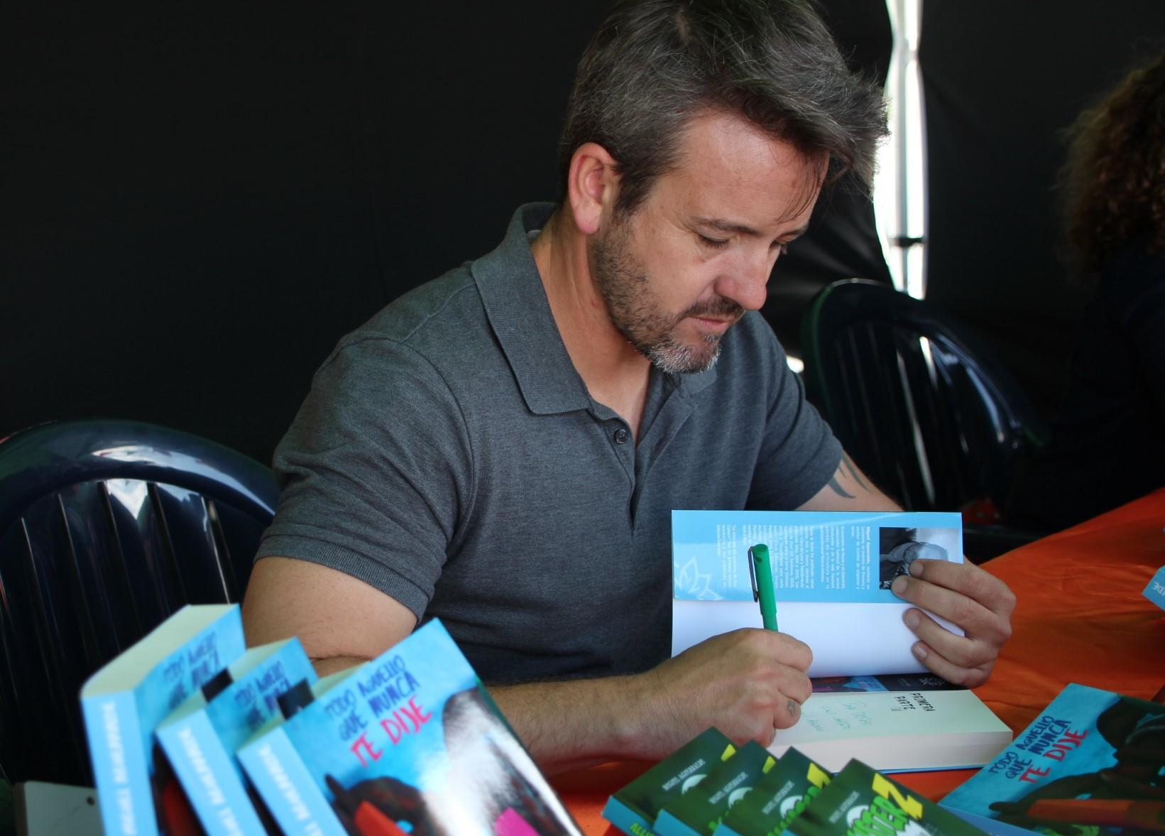 Miguel Aguerralde lanza la tercera novela de su saga Allister Z