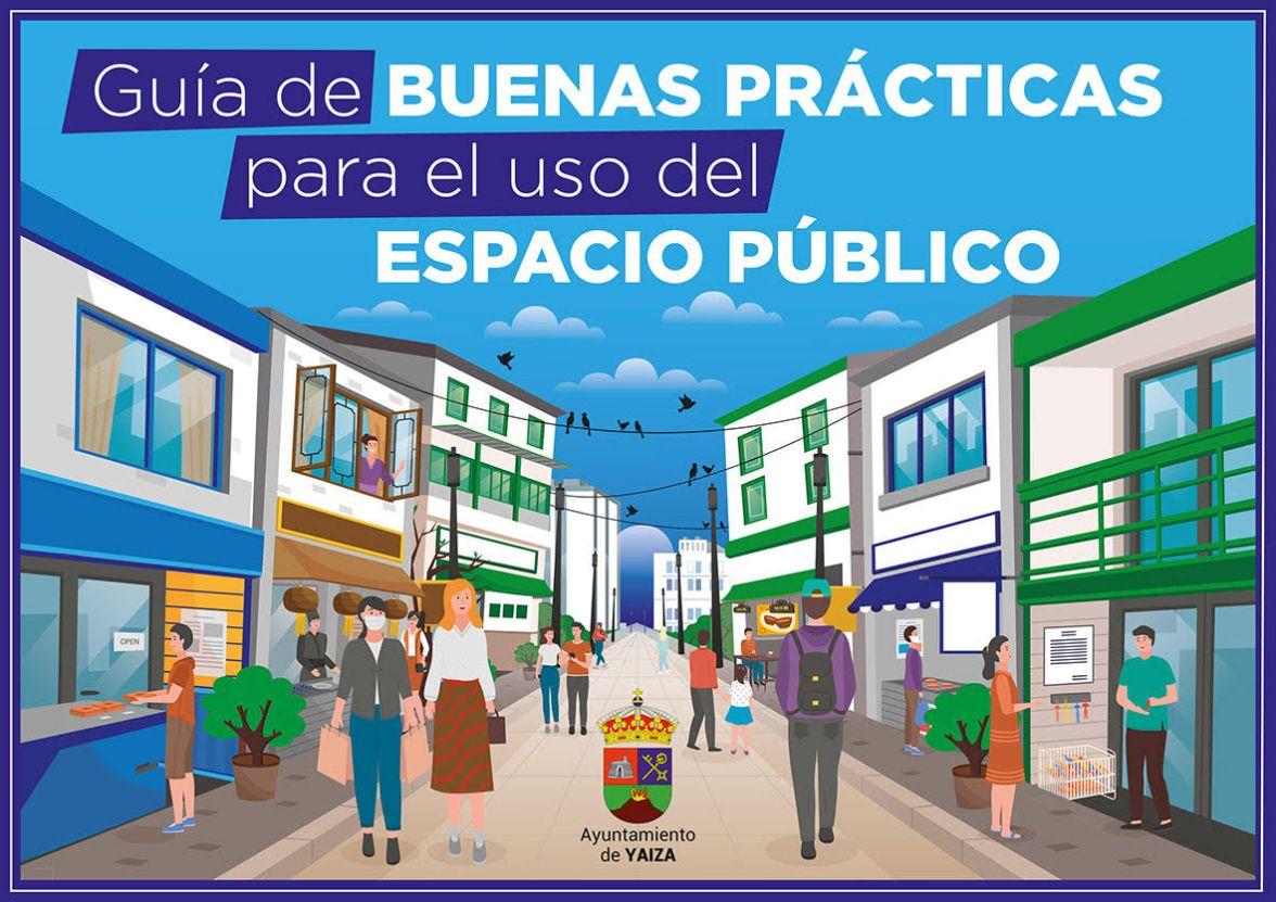 Yaiza publica una Guía de buenas prácticas para el uso del espacio público