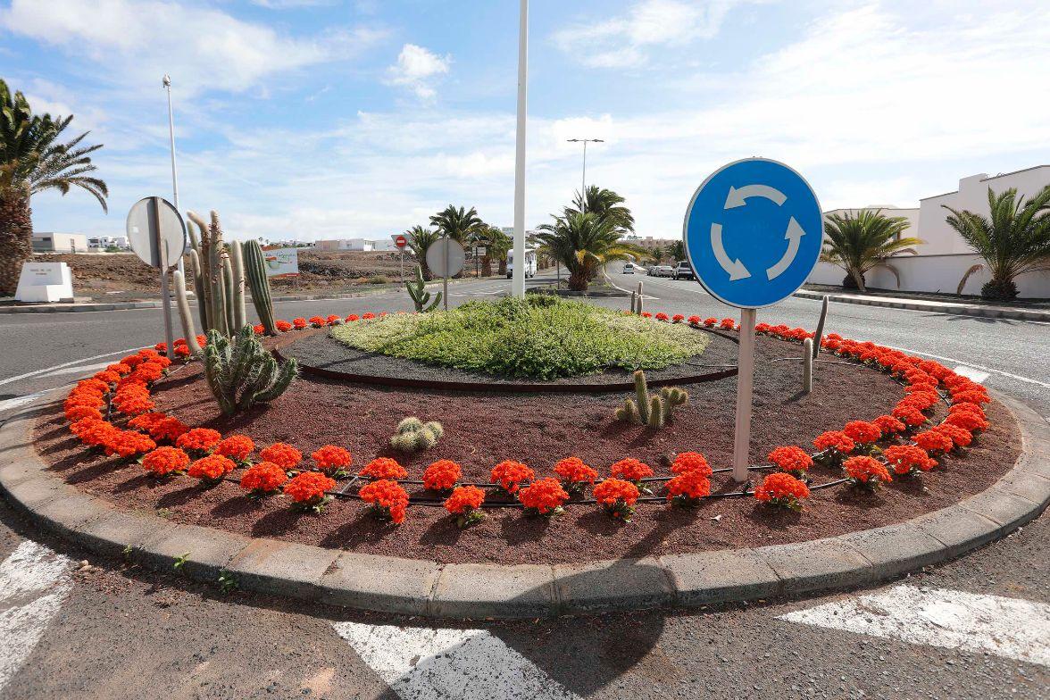 Teguise embellece sus jardines y espacios públicos