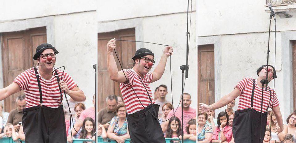 Este sábado Totó el Payaso se encargará de llenar de risa la terraza del CC Biosfera con su espectáculo All You Need Is clown