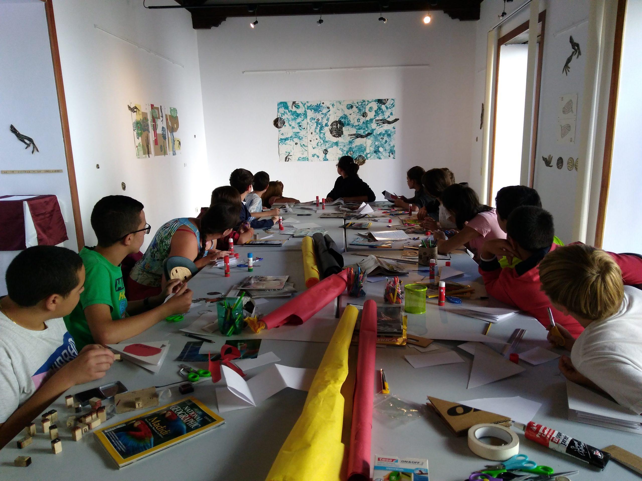 El Centro de Artes Plásticas del Cabildo de Gran Canaria organiza en julio distintos talleres artísticos infantiles gratuitos