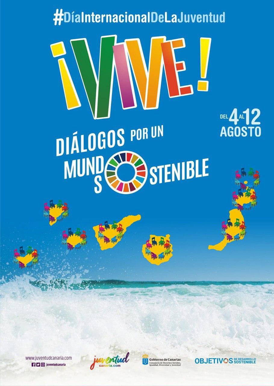 Juventud sale de ruta por las Islas para mantener 'Diálogos por un mundo sostenible'