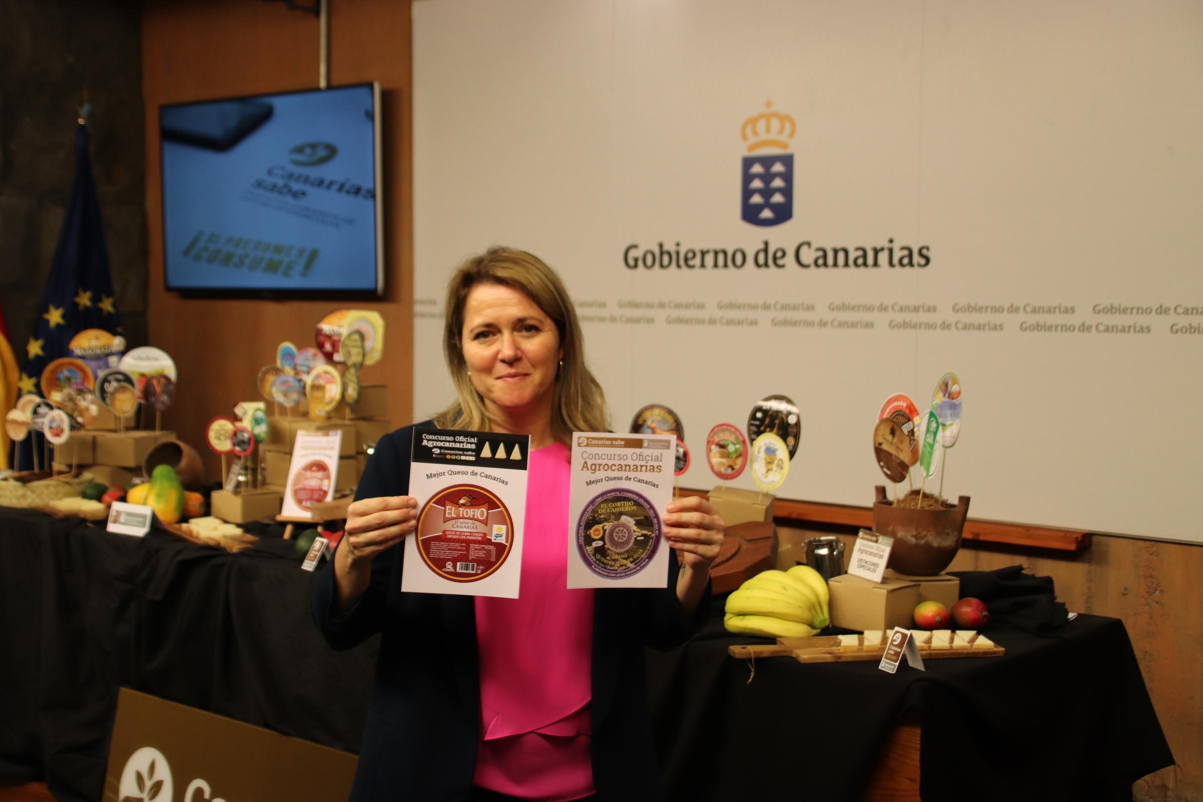 Cortijo de Caideros de Gran Canaria y El Tofio de Fuerteventura mejores quesos de Canarias