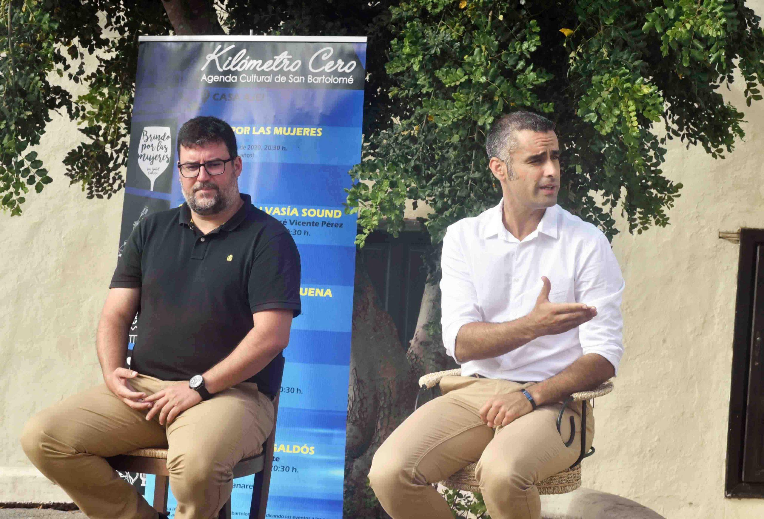 """San Bartolomé retoma la agenda cultural presencial con el ciclo """"KILÓMETRO CERO"""""""