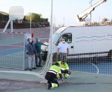 Yaiza renueva el equipamiento deportivo del Parque del Mediterráneo