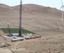 Comienza el traslado de los aerogeneradores al futuro Parque Eólico Arrecife para su montaje e instalación