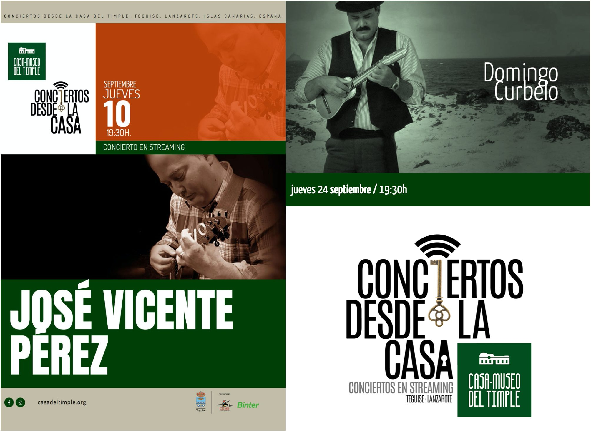 Conciertos en Teguise en STREAMING