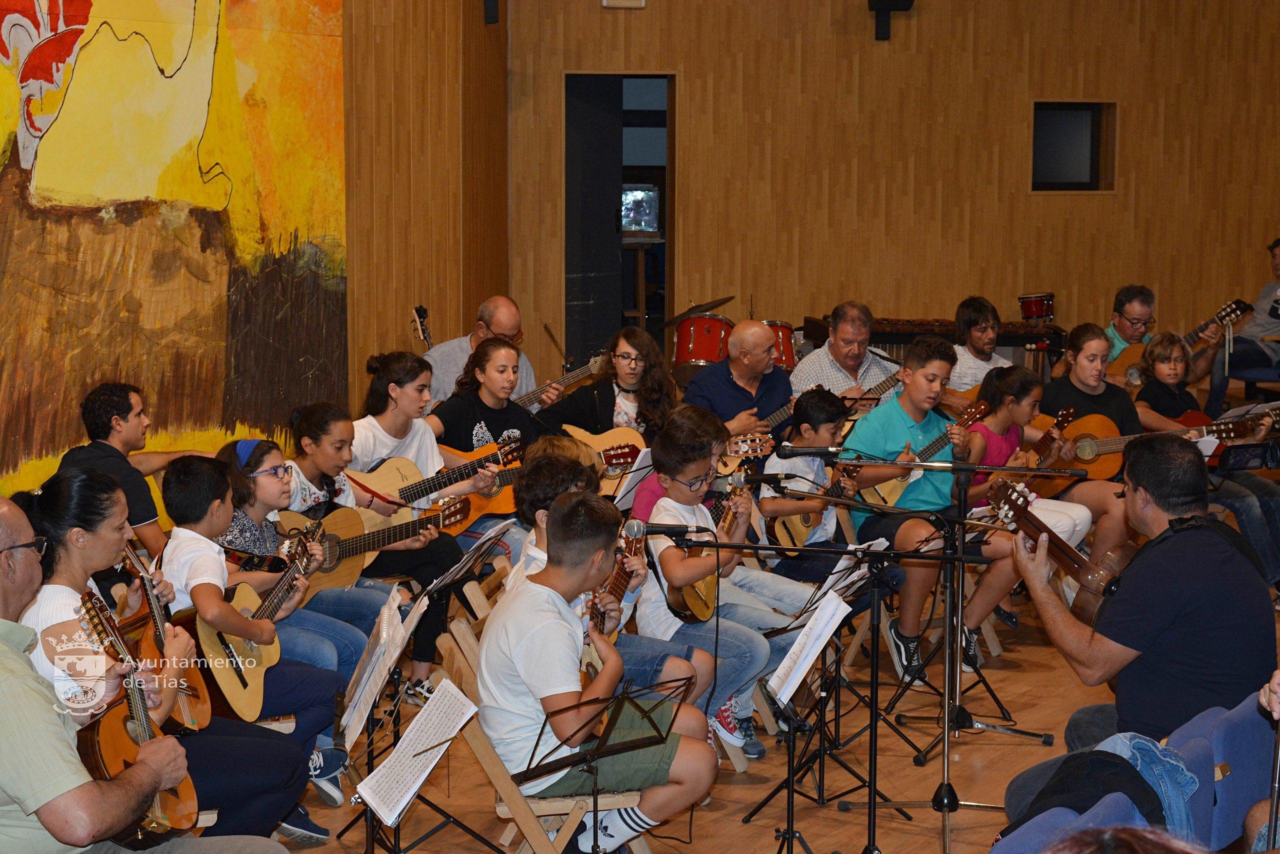 La Escuela de Música de Tías inicia el curso el 28 de septiembre