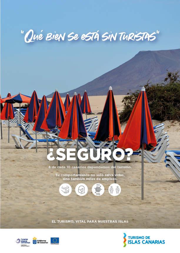 Turismo lanza una campaña de concienciación con el foco puesto en que 8 de cada 10 empleos dependen del sector
