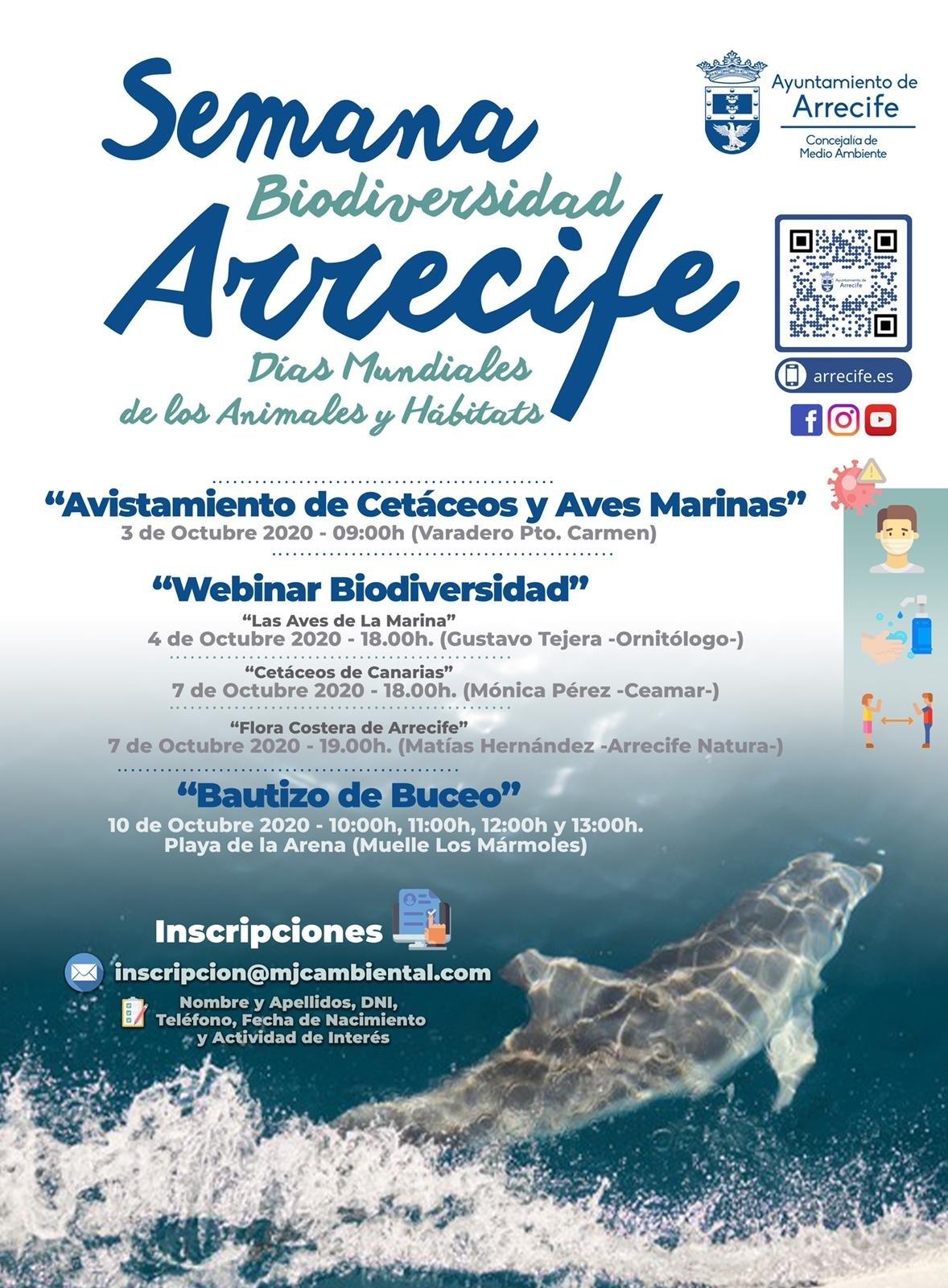 Arrecife promueve múltiples actividades medioambientales para potenciar el conocimiento de los ecosistemas de Lanzarote
