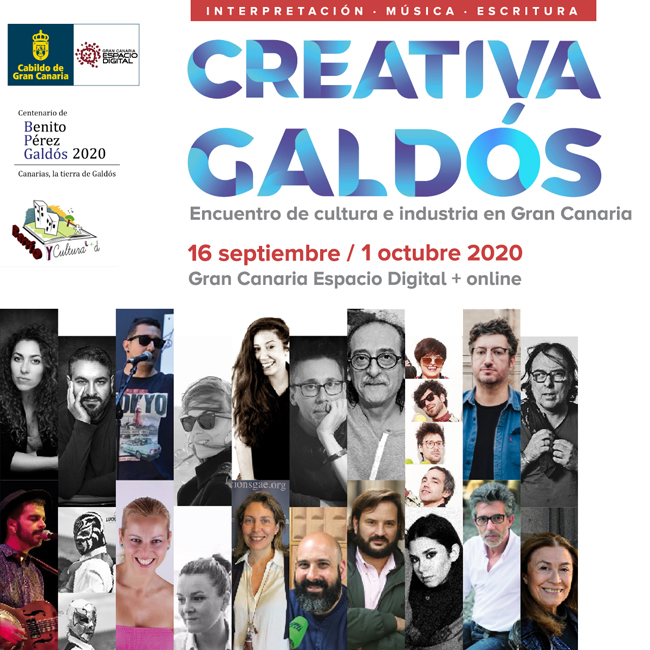 Comienza en Gran Canaria Espacio Digital una nueva edición de 'Creativa Galdós'