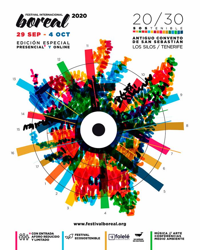 Festival Boreal regresa este 2020 con actividades presenciales y online