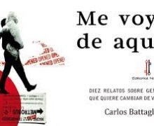 """Cancelación de la Presentación del libro «Me voy de aquí"""" Carlos Battaglini"""