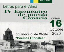 La poesía vuelve a Teguise de la mano de poetas canarios que cantaron al otoño