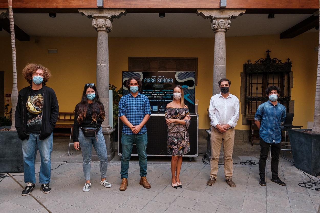 """El talento del pop-rock isleño en el festival """"Gran Canaria Fibra Sonora"""""""