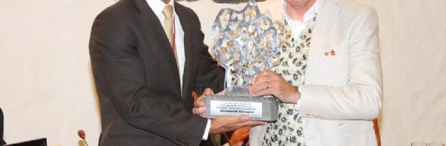 Turismo Lanzarote concede el premio Isla de Lanzarote a Kenneth Gasque