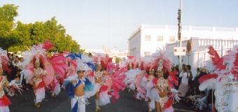 Woman Batuca, pregonera del Carnaval de Arrecife 2015