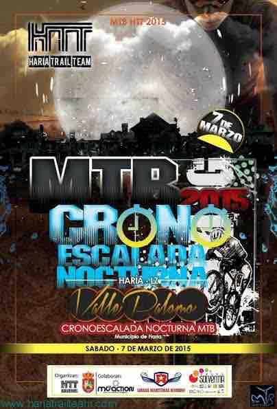 cronoescalada nocturna mtb valle palomo 2015