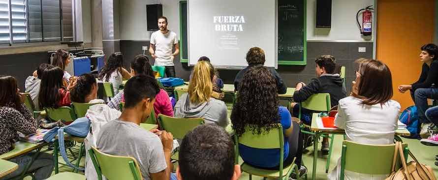 programa ocio saludable Olivina jovenes adolescentes estudiantes