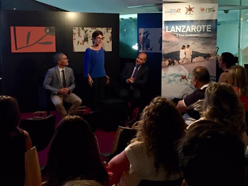 El destino Lanzarote se presenta en sociedad en Lisboa