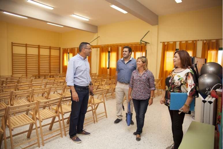 Los 68 niños escolarizados en La Graciosa estrenaron hoy nuevas instalaciones educativas