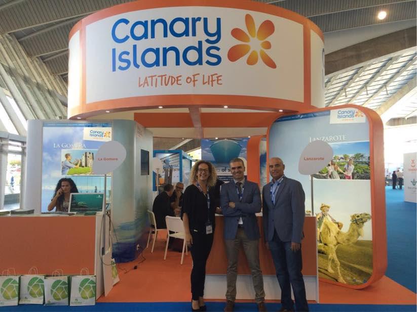Turismo Lanzarote, la Cámara de Comercio y el Ayuntamiento de Arrecife, presentes en la mayor feria de cruceros de Europa
