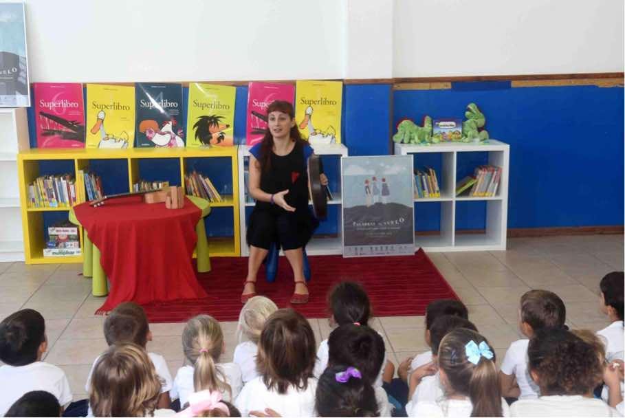 257 niños de San Bartolomé participan en el IV Festival del Cuento Contado Palabras al Vuelo