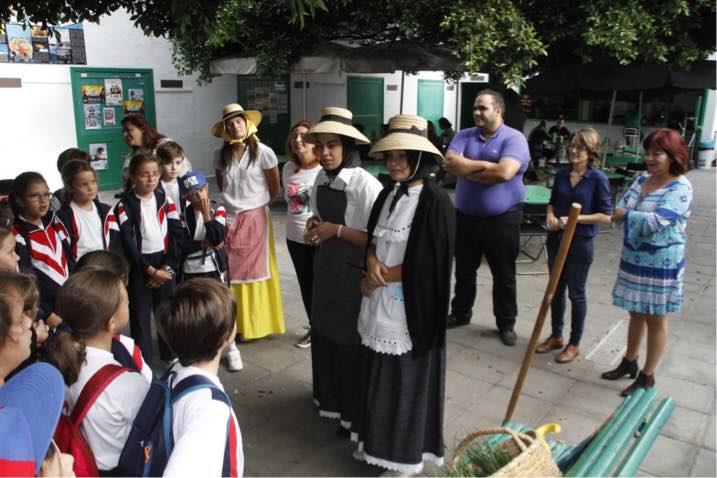Los escolares de Arrecife reclaman una ciudad más limpia, con más espacios verdes y zonas donde jugar
