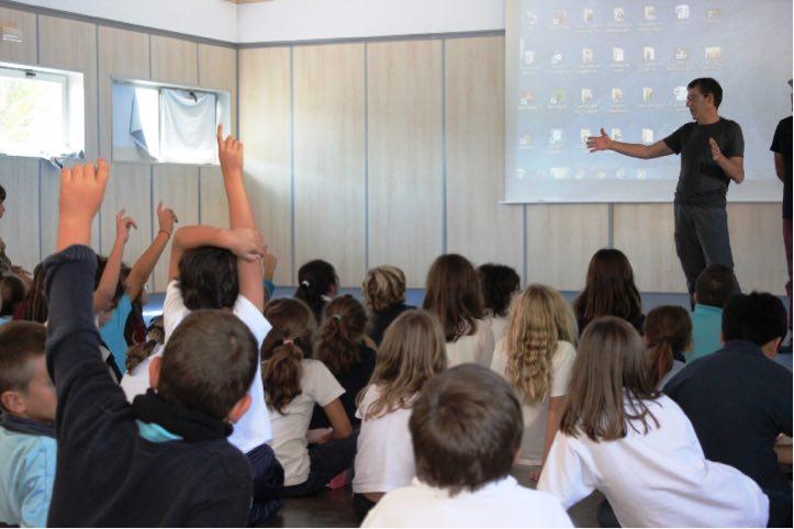 El Festival LANGAIA se cuela en las aulas con su apuesta por el reciclaje y la biodiversidad
