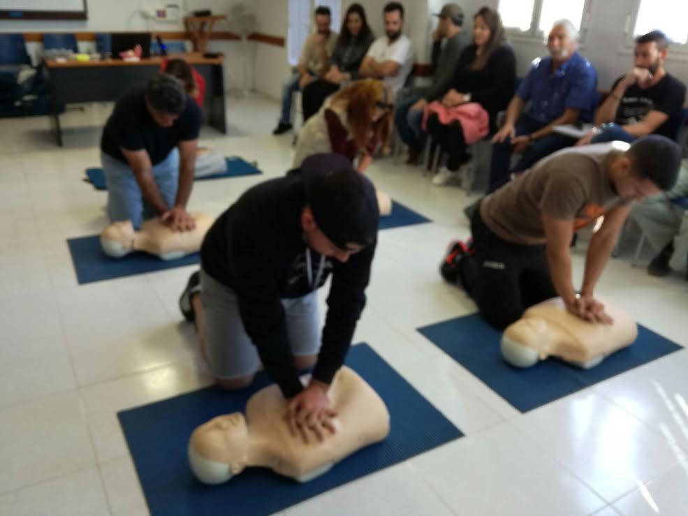 Más de 3.400 alumnos de Lanzarote aprenden a 'salvar vidas' en cursos sobre Reanimación Cardiopulmonar