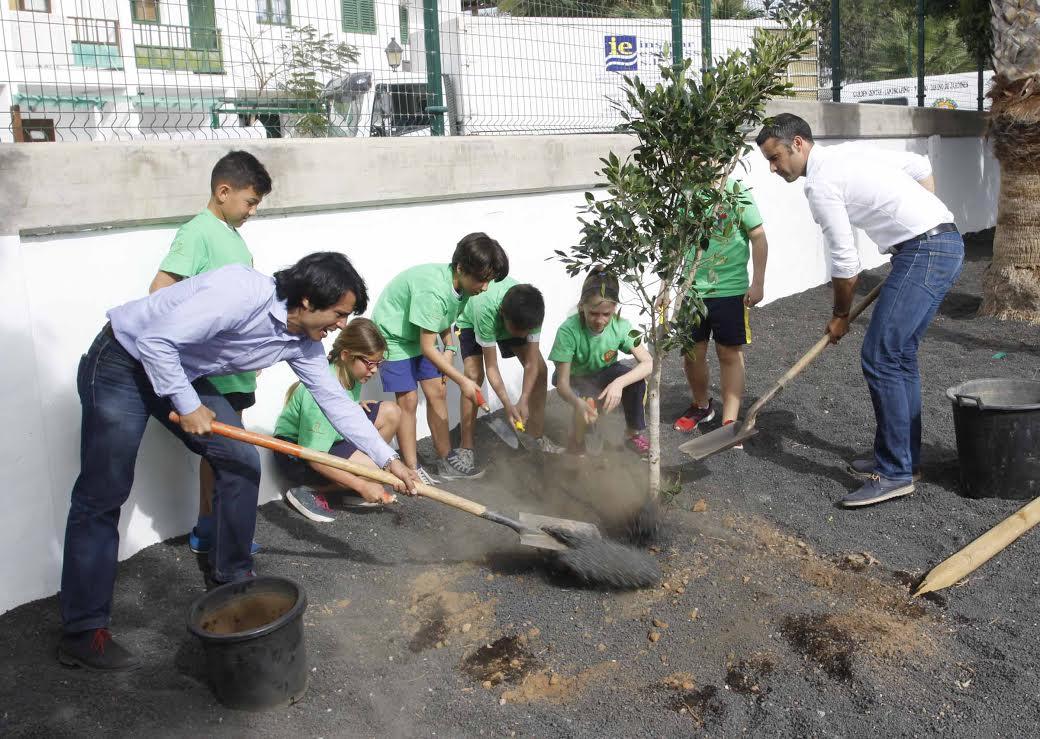 """El proyecto medioambiental """"Lanzarote Amable"""" llega al CEIP Playa Honda"""
