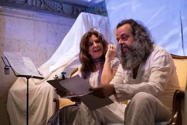 Lamalavida Producciones representa el espectáculo teatral 'Mercedes Pinto. A través de las palabras'