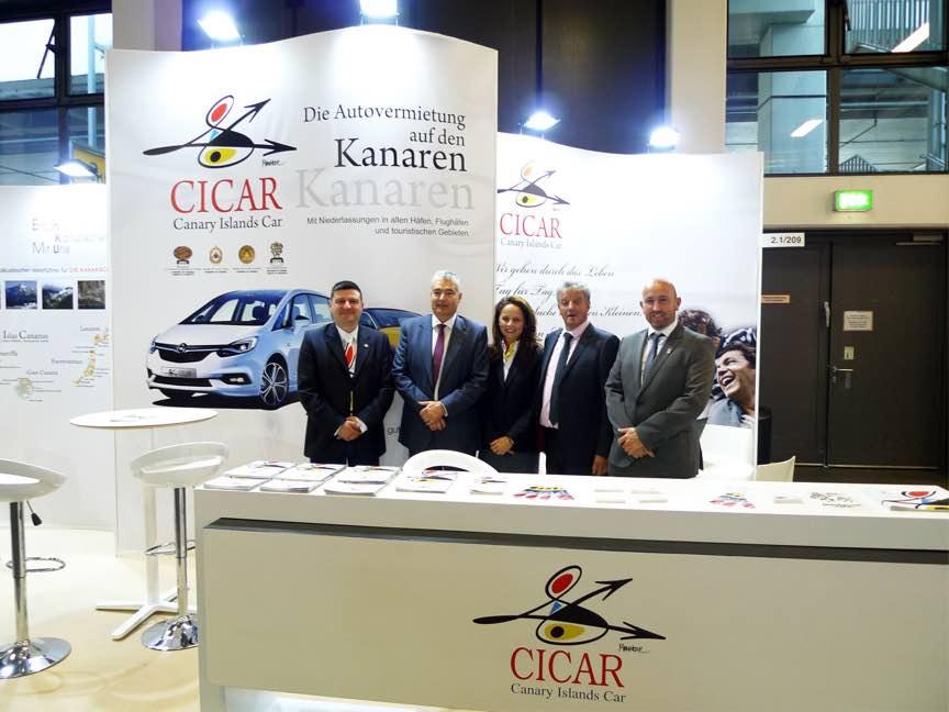 El presidente del Gobierno de Canarias arropa a CICAR en Berlín