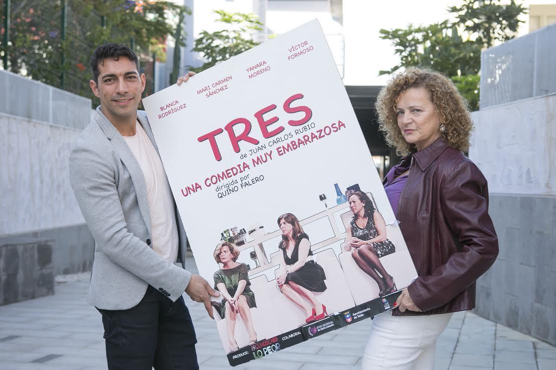 Quino Falero dirige en la Sala Insular de Teatro 'Tres', de Juan Carlos Rubio
